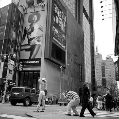Fashion Wall Art:  Times Square#4 by Wouter Deruytter