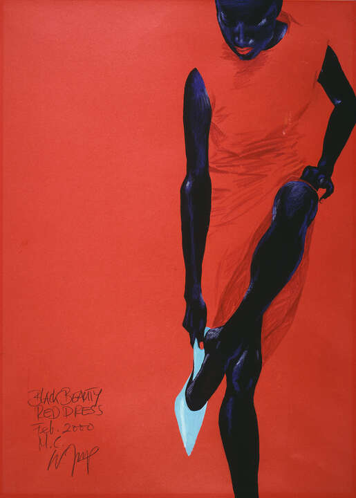 Black Beauty - Red Dress de Wolfgang Joop