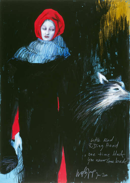 Little Red Riding Hood - one time black by Wolfgang Joop