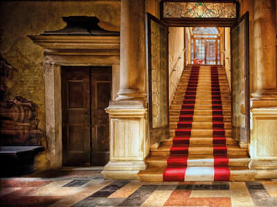 curated stair artworks: Palazzo di Alvise I by Werner Pawlok